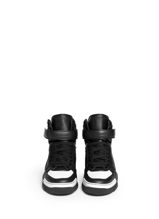 Figure View - Click To Enlarge - Givenchy - 'Tyson' calf leather sneakers