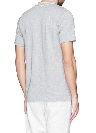 Back View - Click To Enlarge - Sacai - Slogan patch pocket T-shirt