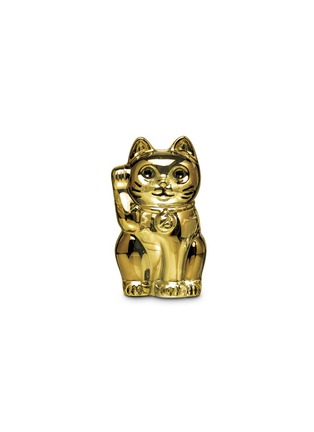 Main View - Click To Enlarge - Baccarat - Chat lucky cat sculpture - Gold