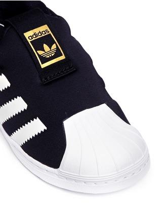 Detail View - Click To Enlarge - Adidas - 'Superstar 360' neoprene slip-on toddler sneakers
