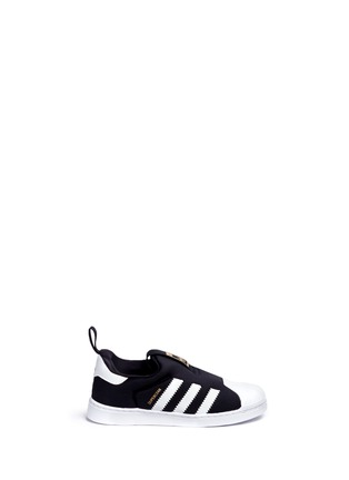 Main View - Click To Enlarge - Adidas - 'Superstar 360' neoprene slip-on toddler sneakers
