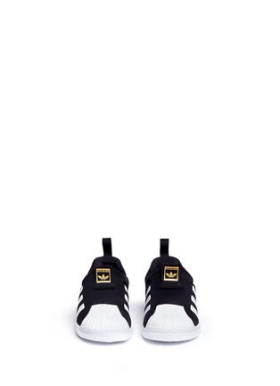 Figure View - Click To Enlarge - Adidas - 'Superstar 360' neoprene slip-on toddler sneakers