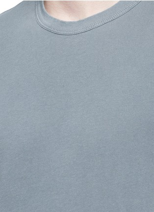 Detail View - Click To Enlarge - James Perse - Crew neck cotton T-shirt