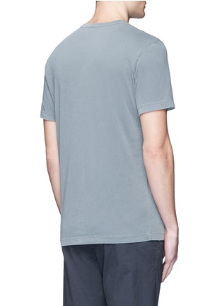 Back View - Click To Enlarge - James Perse - Crew neck cotton T-shirt
