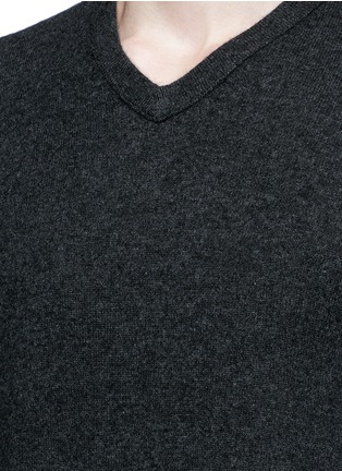 Detail View - Click To Enlarge - James Perse - V-neck cashmere sweater