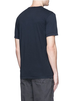 Back View - Click To Enlarge - James Perse - Crew neck cotton jersey T-shirt