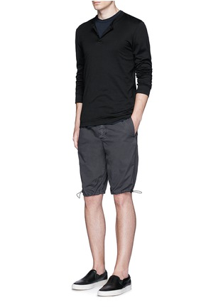 Figure View - Click To Enlarge - James Perse - Crew neck cotton jersey T-shirt