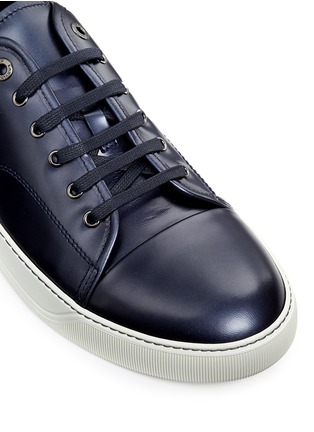 Detail View - Click To Enlarge - LANVIN - Patent leather sneakers