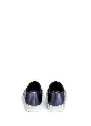 Back View - Click To Enlarge - LANVIN - Patent leather sneakers