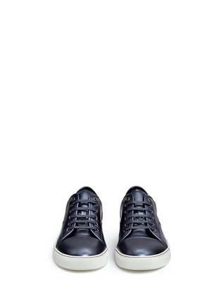 Front View - Click To Enlarge - LANVIN - Patent leather sneakers