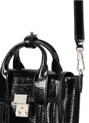 Detail View - Click To Enlarge - 3.1 Phillip Lim - 'Pashli' mini patent leather satchel