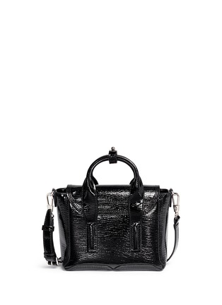 Back View - Click To Enlarge - 3.1 Phillip Lim - 'Pashli' mini patent leather satchel