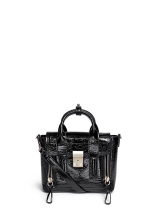 Main View - Click To Enlarge - 3.1 Phillip Lim - 'Pashli' mini patent leather satchel