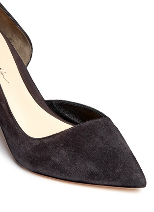 Detail View - Click To Enlarge - 3.1 Phillip Lim - 'Martini' cutout side suede pumps