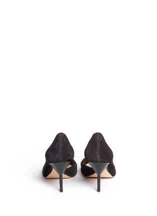 Back View - Click To Enlarge - 3.1 Phillip Lim - 'Martini' cutout side suede pumps