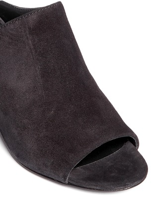 Detail View - Click To Enlarge - 3.1 Phillip Lim - 'Cube' suede mules