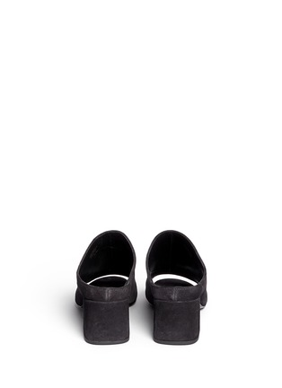Back View - Click To Enlarge - 3.1 Phillip Lim - 'Cube' suede mules