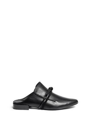 Main View - Click To Enlarge - 3.1 Phillip Lim - 'Louie' knotted leather mules