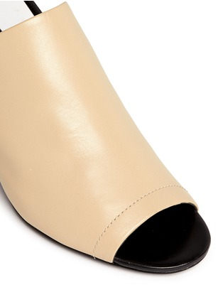 Detail View - Click To Enlarge - 3.1 Phillip Lim - 'Cube' leather slingback sandals