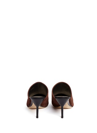 Back View - Click To Enlarge - 3.1 Phillip Lim - 'Martini' suede mules