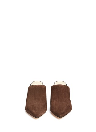 Front View - Click To Enlarge - 3.1 Phillip Lim - 'Martini' suede mules