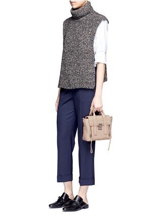 Figure View - Click To Enlarge - 3.1 Phillip Lim - 'Pashli' mini grainy leather satchel