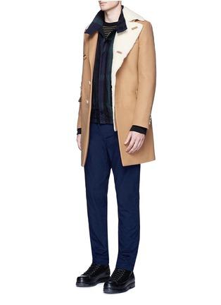 Figure View - Click To Enlarge - Sacai - Check plaid flannel blouson jacket