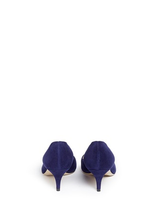 Back View - Click To Enlarge - PAUL ANDREW - 'Manhattan' suede pumps