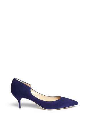 Main View - Click To Enlarge - PAUL ANDREW - 'Manhattan' suede pumps