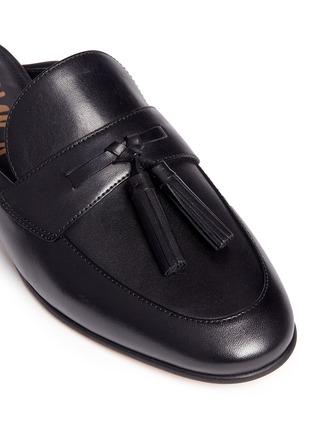 Detail View - Click To Enlarge - Sam Edelman - Paris' tassel leather slide loafers