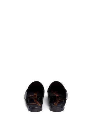 Back View - Click To Enlarge - Sam Edelman - Paris' tassel leather slide loafers