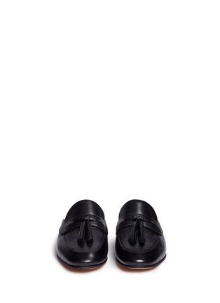 Front View - Click To Enlarge - Sam Edelman - Paris' tassel leather slide loafers