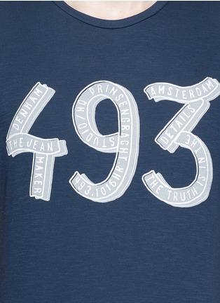 Detail View - Click To Enlarge - DENHAM - '493' print cotton T-shirt