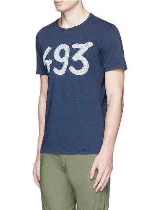 Front View - Click To Enlarge - DENHAM - '493' print cotton T-shirt