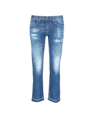 Main View - Click To Enlarge - rag & bone/JEAN - 'X Boyfriend' slim fit straight leg jeans