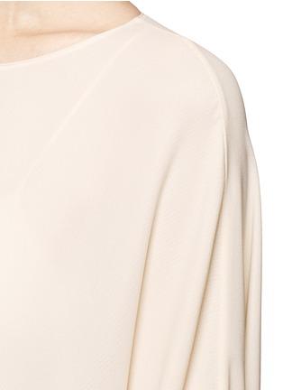 Detail View - Click To Enlarge - The Row - 'Likita' crepe maxi kaftan dress