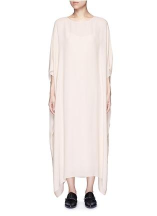 Main View - Click To Enlarge - The Row - 'Likita' crepe maxi kaftan dress