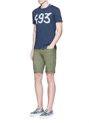Figure View - Click To Enlarge - Denham - 'Razor' cotton shorts