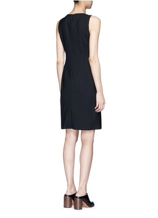 Back View - Click To Enlarge - Theory - 'Betty' Italian wool sheath dress