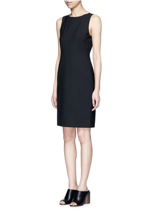 Front View - Click To Enlarge - Theory - 'Betty' Italian wool sheath dress