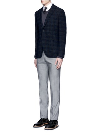 Figure View - Click To Enlarge - Armani Collezioni - V-neck wool sweater