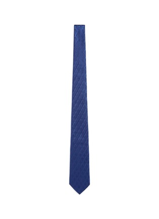 Main View - Click To Enlarge - Armani Collezioni - Textured diamond jacquard tie