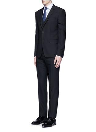 Figure View - Click To Enlarge - Armani Collezioni - 'Modern' stripe cotton shirt
