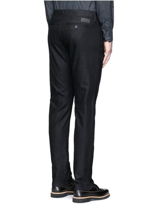 Back View - Click To Enlarge - Armani Collezioni - Straight leg denim pants