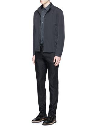 Figure View - Click To Enlarge - Armani Collezioni - Straight leg denim pants