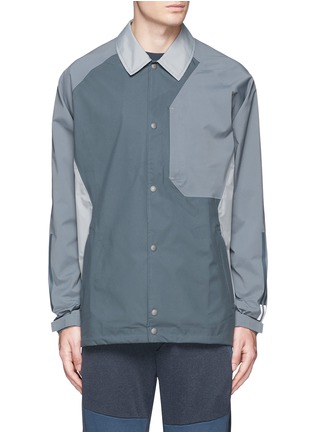 Main View - Click To Enlarge - Adidas By White Mountaineering - Patchwork bench jacket
