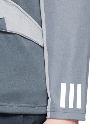 Detail View - Click To Enlarge - Adidas By White Mountaineering - Patchwork jersey jacket