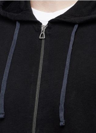 Detail View - Click To Enlarge - James Perse - Vintage fleece zip hoodie