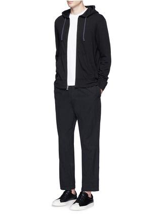 Figure View - Click To Enlarge - James Perse - Vintage fleece zip hoodie