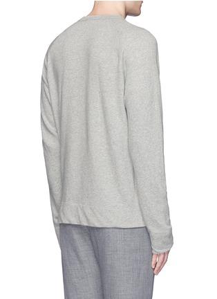Back View - Click To Enlarge - James Perse - Vintage fleece sweatshirt
